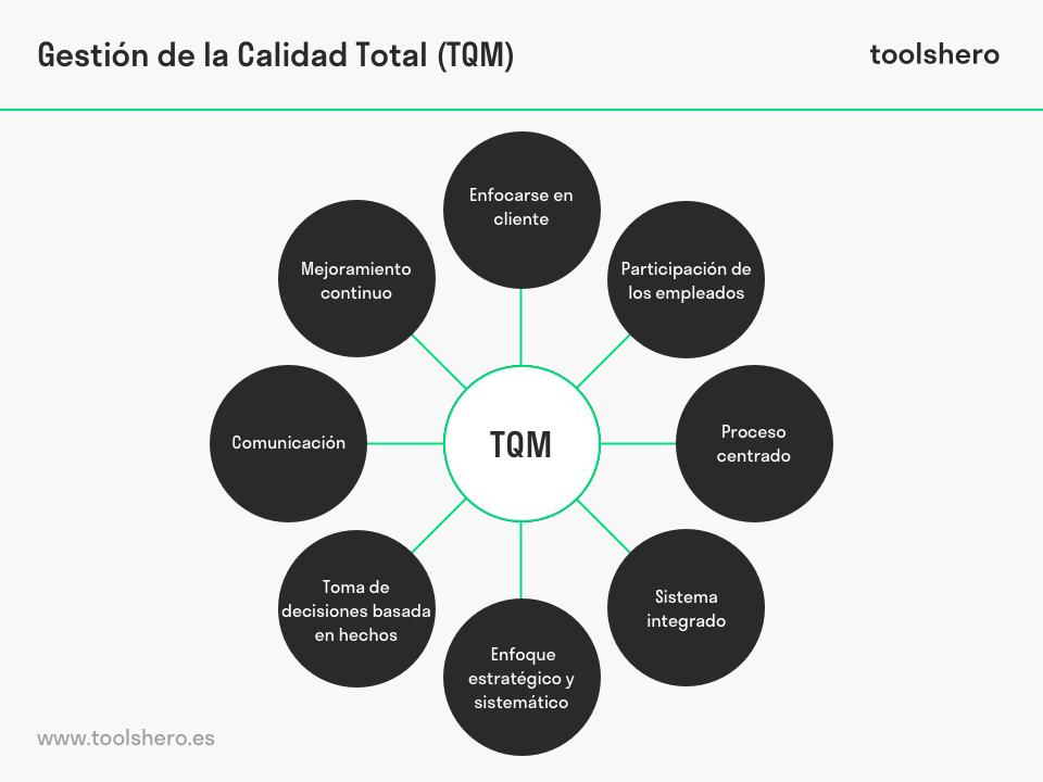 Principios de la Gestión de Calidad Total - toolshero